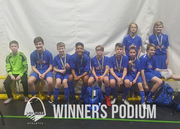 February Winners Podium