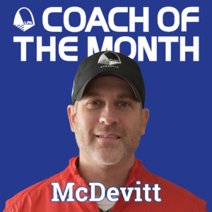 Coach of the Month-McDevitt