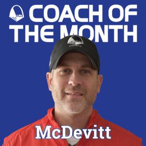 Coach of the Month-McDevitt