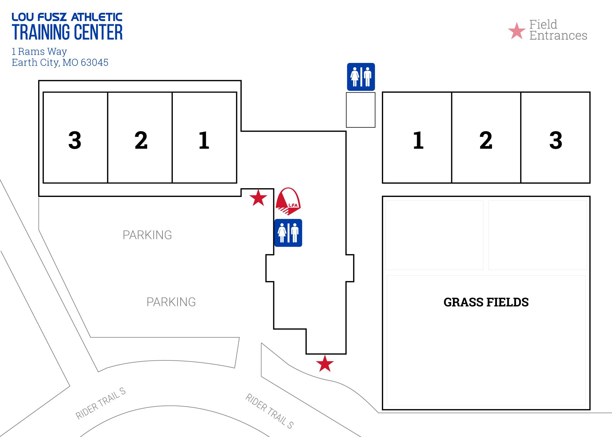 LFA Training Center Map