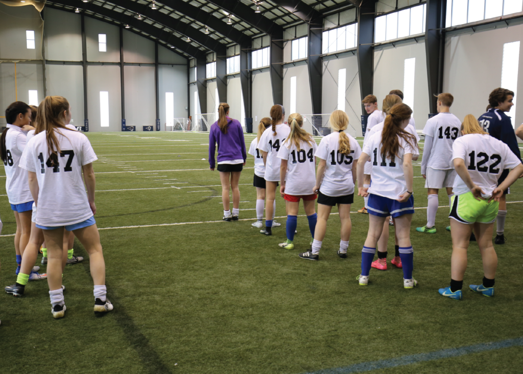 LFA HS Combine Girls Start