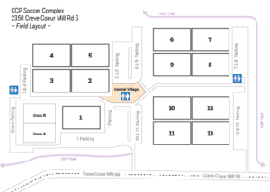 CCP Soccer Complex - Map