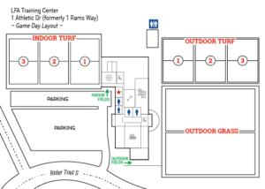 LFA Training Center - Map