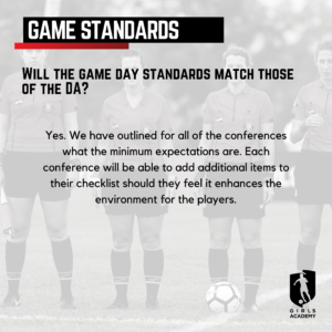 GAL game standards