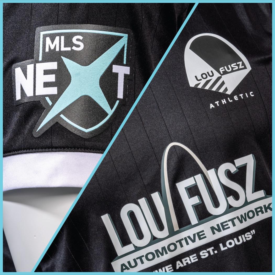 Lou Fusz Athletic MLS Next Announcement Jersey