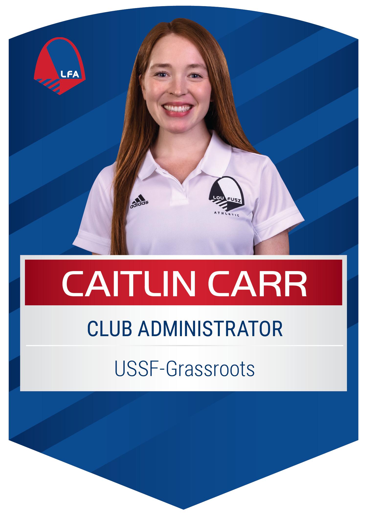 Caitlin Carr